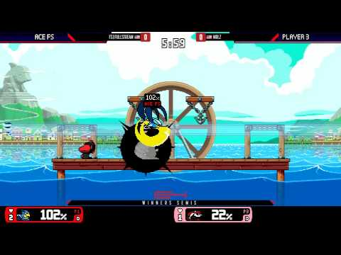 Genesis 4 - FS | FullStream Vs. Mr. Lz - Winners Semis - Rivals of Aether