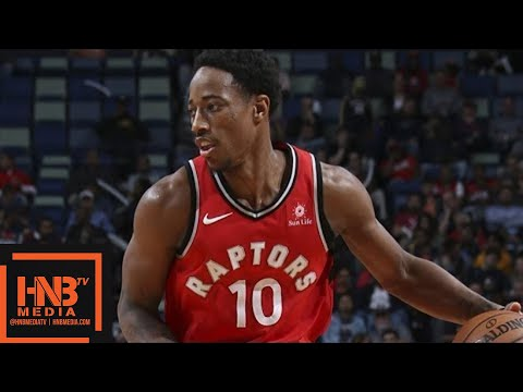 Washington Wizards vs Toronto Raptors 1st Half Highlights / Week 5 / 2017 NBA Season
