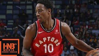 Washington Wizards vs Toronto Raptors 1st Half Highlights / Week 5 / 2017 NBA Season