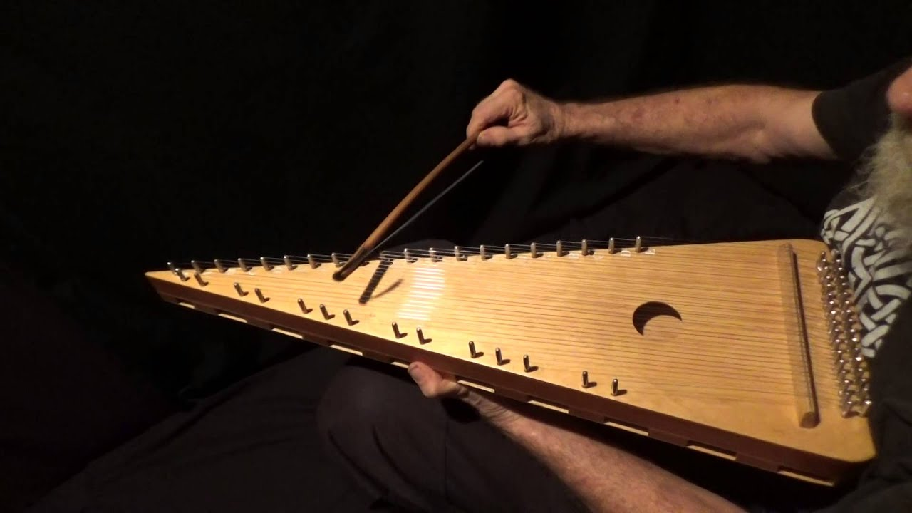 how to play a psaltery