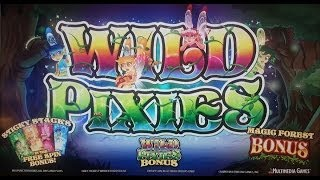 MultiMedia Games - Wild Pixies Slot Bonus Features