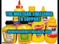 The Mustard Challenge for charity pediatric cancer research #NoMoreKidsWithCancer