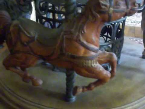 Metal Carousel Horse Base Coffee Table With 44 Quot Round