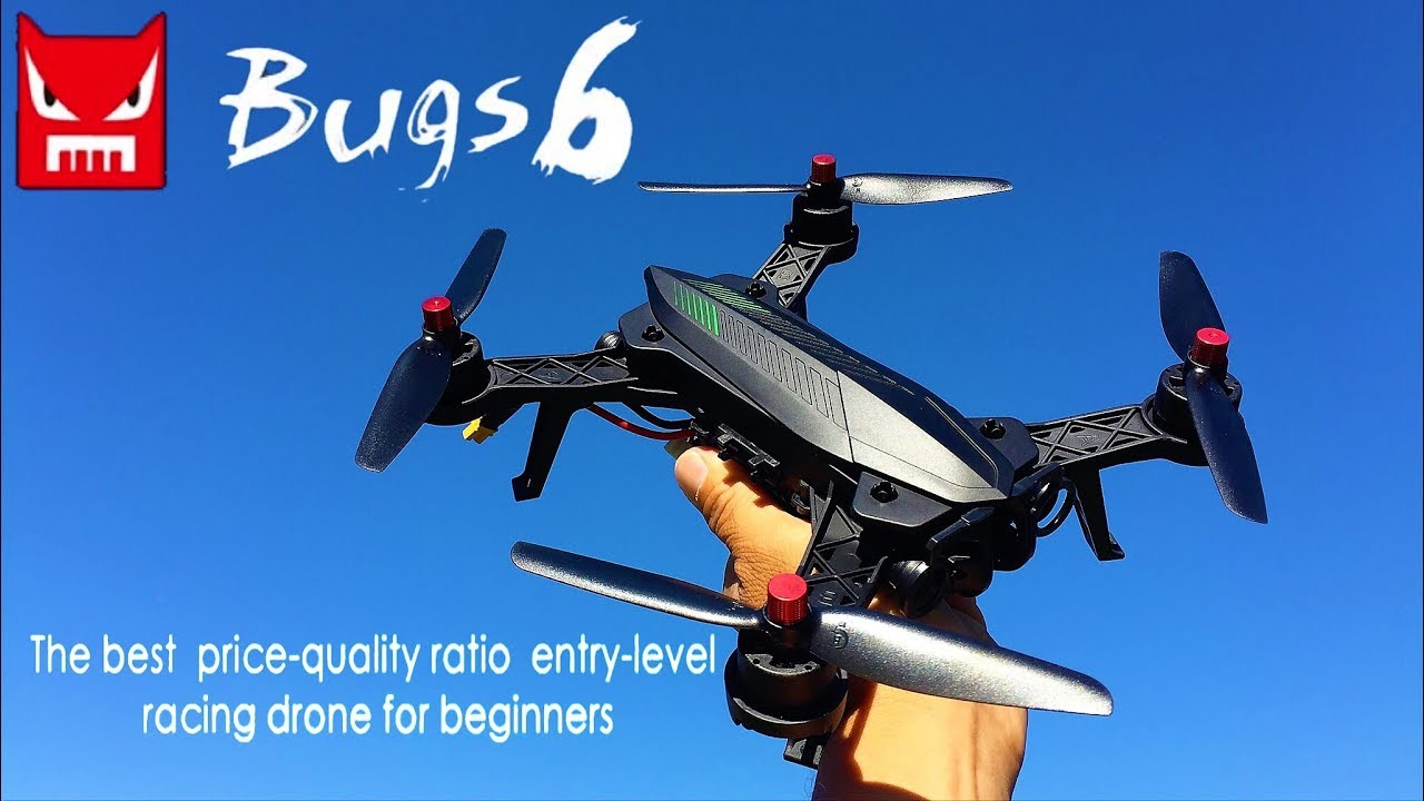 mjx bugs 6 racing  MJX Bugs 6 250mm RC Brushless Racing Quadcopter - YouTube