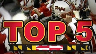 Top 5 Maryland ACC Football Moments | A Farewell To Maryland In The ACC