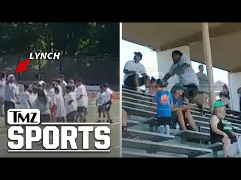 The Morning Rush with Travis Justice and Heather Burnside - Marshawn Lynch Gets In Confrontation With Kid's Mom At Football Camp
