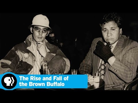 THE RISE AND FALL OF THE BROWN BUFFALO   Filmmaker Phillip Rodriguez On Oscar Zeta Acosta   PBS
