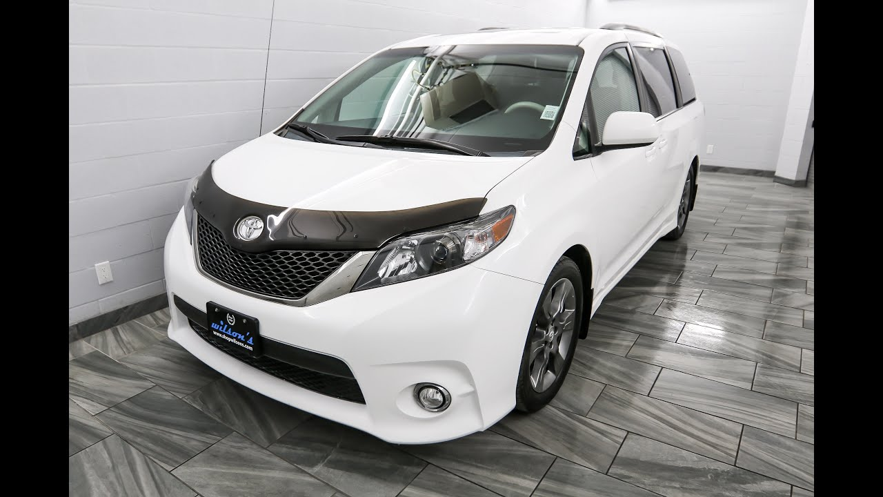 2011 toyota sienna se mark wilsons better used cars guelph. Black Bedroom Furniture Sets. Home Design Ideas