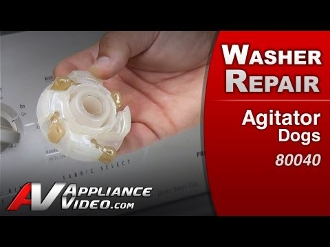 Washer Repair- Whirlpool,Maytag, Amana - Agitator Dogs - # 80040 Replacement Part)