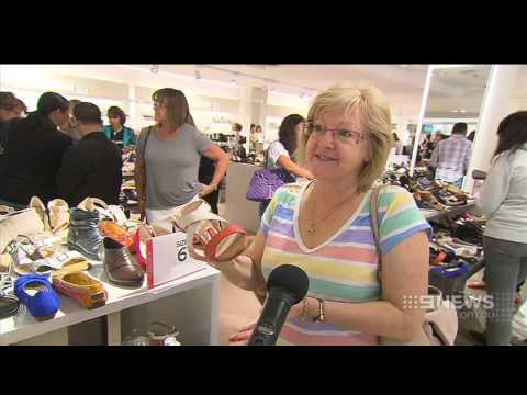 Boxing Day Sales | 9 News Adelaide