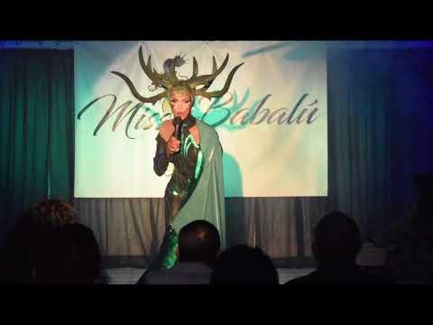 Presentation/Presentacion Ebony Zaret Mendoza [Miss Babalu 2018]