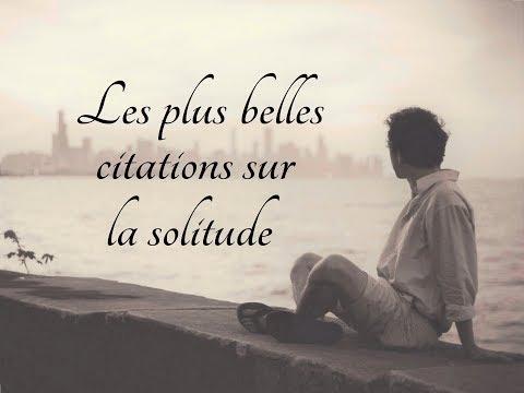 Les plus belles citations sur la solitude