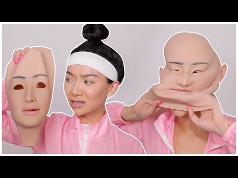 I BOUGHT A NEW FACE... again? Silicone Face Mask!