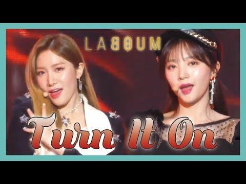 [HOT] LABOUM - Turn It On ,  라붐 - 불을 켜  Show Music core 20190112