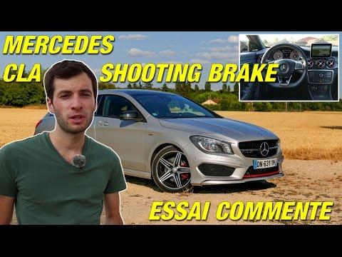 Essai Mercedes CLA Shooting Brake / Une belle gueule, et après ?