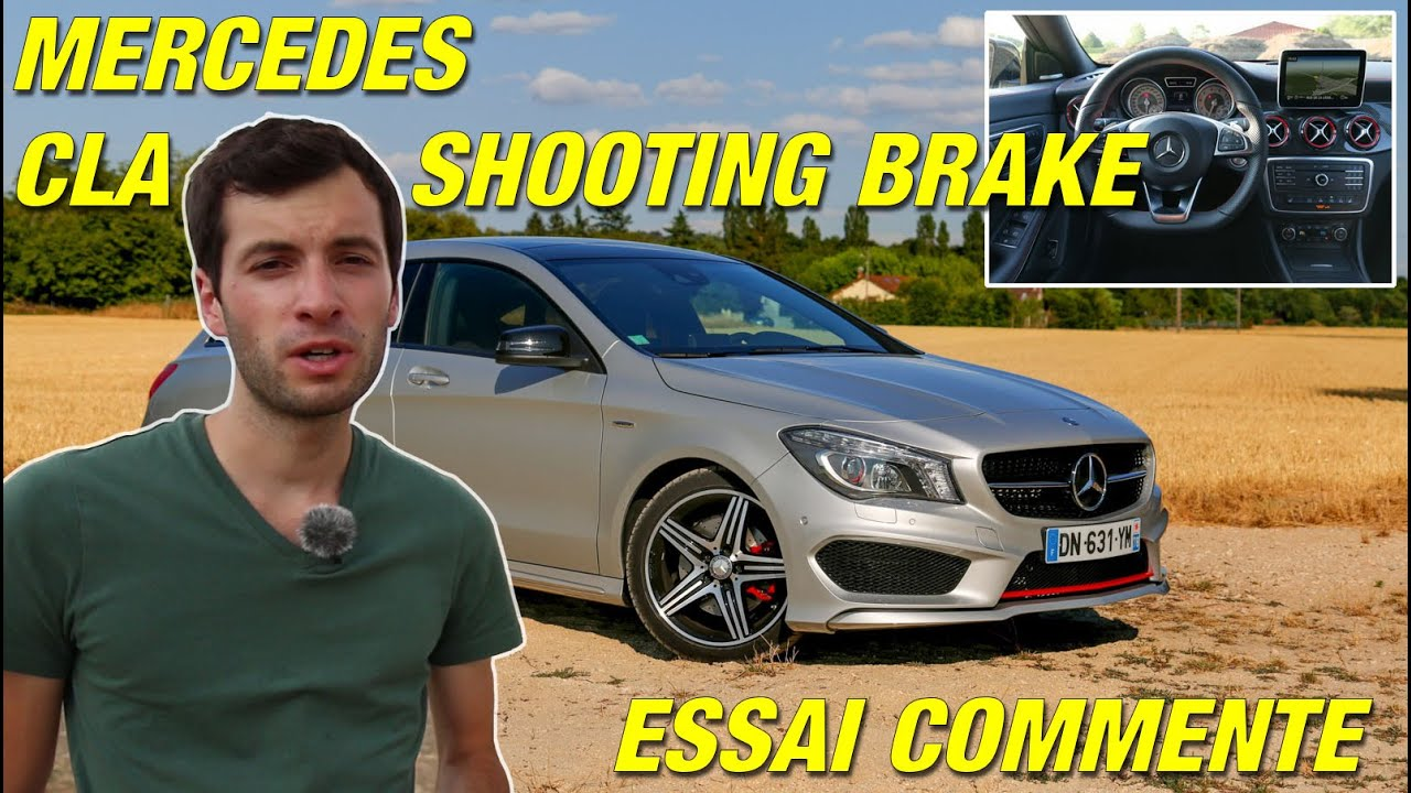essai mercedes cla shooting brake une belle gueule et apr s youtube. Black Bedroom Furniture Sets. Home Design Ideas