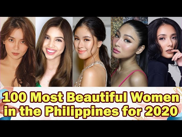 The prettiest philippines in woman 27 Most