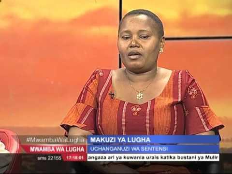 MWAMBA WA LUGHA: Makuzi ya Kiswahili na Geoffrey Mung'ou 2nd April 2016 Sehemu ya Pili