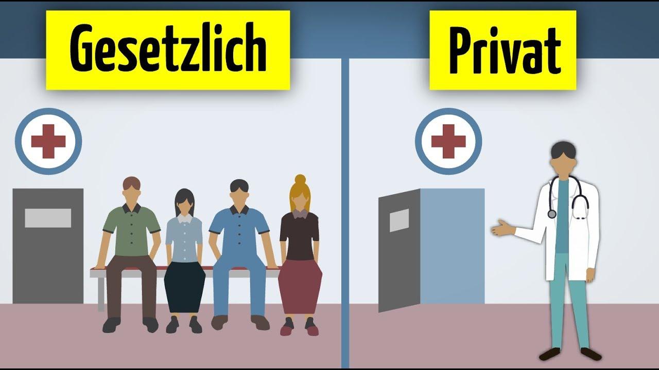 private oder gesetzliche krankenversicherung was lohnt sich eher youtube. Black Bedroom Furniture Sets. Home Design Ideas