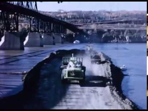Peace River Bridge Opens - July 31, 1968