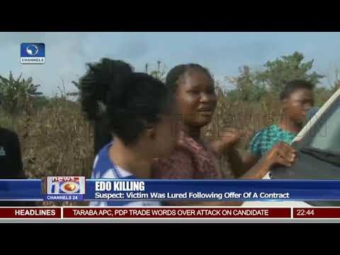 Edo Killing: Alleged Killers Lead Police Team To Crime Scene In Ute Bush
