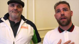BIG JOHN FURY & BILLY JOE SAUNDERS RIP INTO MEDIA, TALK