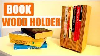 ✅ Book Holder DIY Bücherhalter aus Multiplex selber machen !