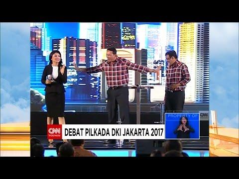 FULL Debat Cagub DKI 2017 Kedua ; AHY - Sylvi, Ahok - Djarot, Anies - Sandi