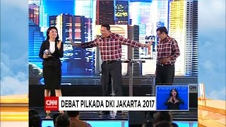 Video FULL Debat Cagub DKI 2017 Kedua ; AHY - Sylvi, Ahok - Djarot, Anies - Sandi download MP3, 3GP, MP4, WEBM, AVI, FLV April 2017