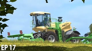 WHATS THAT COMING OVER THE HILL  Farming Simulator 17  The Valley The Old Farm - Episode 17