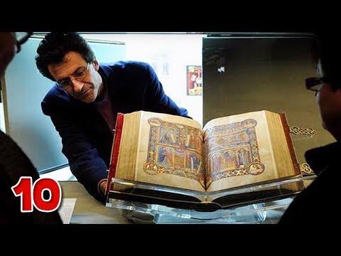 10 อันดับ หนังสือ โคตรแพงที่สุดในโลก แพงจนน่าขนลุก !!