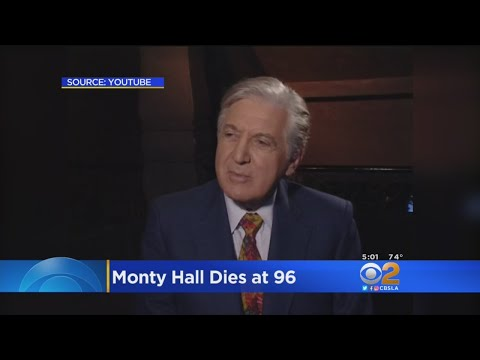 Game Show Ledend Monty Hall Dies