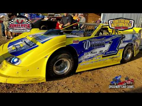 #1 Vic Hill - Super Late Model - 10-14-17 Ponderosa Speedway - In Car Camera