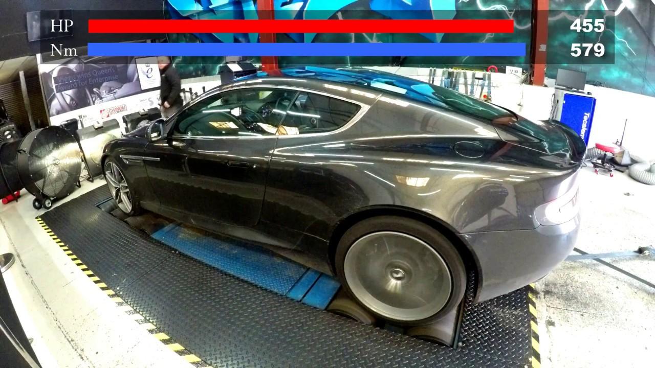 Aston Martin Db9 Exhaust And Db9 Tuning Youtube