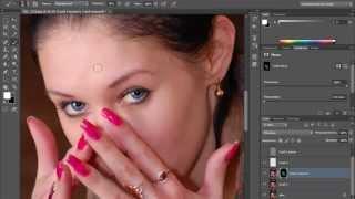 Photoshop CC Профессиональный метод ретуши в фотошопе