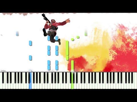 Team Fortress 2 // Rocket Jump Waltz // Piano