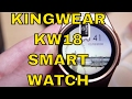 KingWear KW18 Smartwatch for Android & iPhone from Gearbest. Apps, Voice Changer