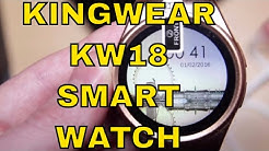 KingWear KW18 Unboxing, Review and How to setup!