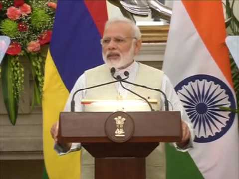 India announces $500 million credit line for Mauritius