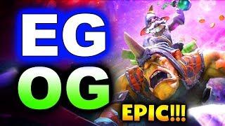 eg vs og epic elimination epicenter major 2019 dota 2
