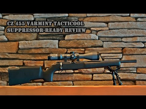 Gun Review: CZ 455 Varmint Tacticool Suppressor-Ready Rifle - The