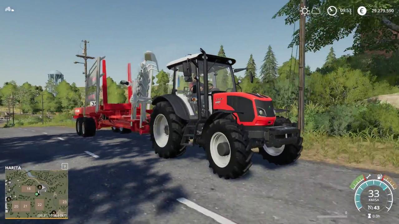 Farming Simulator 19 - Balya Yapımı, Yükleme ve Satışı (FS19)