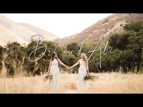 """My soul instantly recognized yours "" | LGBTQ Lesbian Wedding | Bri + Ali"