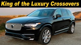 2016 / 2017 Volvo Xc90 T6 Awd Review And Road Test | Detailed In 4k