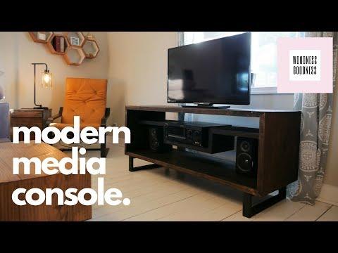 Modern Media Console