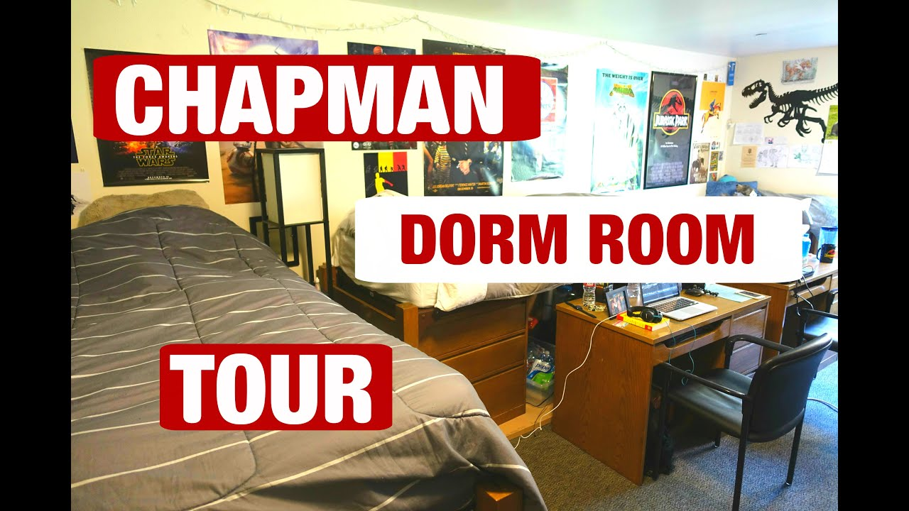 EXTENDED CHAPMAN DORM ROOM TOUR Part 56