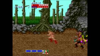 Late Night Retro - Golden Axe - Hot 1989 Video Game Ass!!!