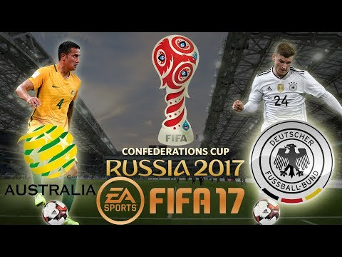 FIFA 17 | Australia vs Germany | FIFA Confederations Cup Russia 2017 | PS4 Gameplay [1080p 60fps]