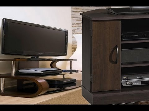 Types of tv stands wooden tv cabinet designs for living - Dresser as tv stand in living room ...