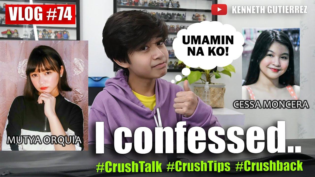 I finally confessed about my crush and nagulat ako sa mga sinabi nya: KENNETH GUTIERREZ| VLOG 74